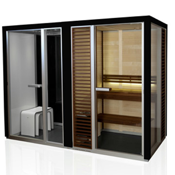 Tylo Twin Sauna Steam Room