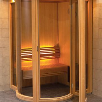 Round Vision Sauna