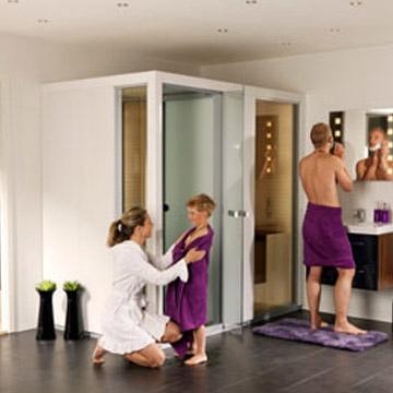 Impression ix210 steam sauna room