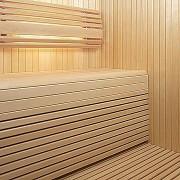 sauna bench by blackchurch leisure