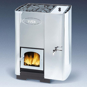 Wood-fired sauna stoves