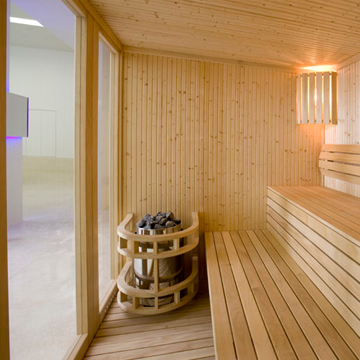 bleisure.com sauna in spa