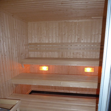 bleisure.com sauna led lighting 3
