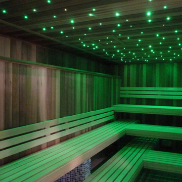 bleisure.com sauna led lighting 2