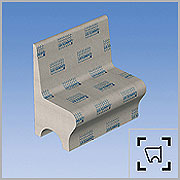 Lux Element Steam Room Seats