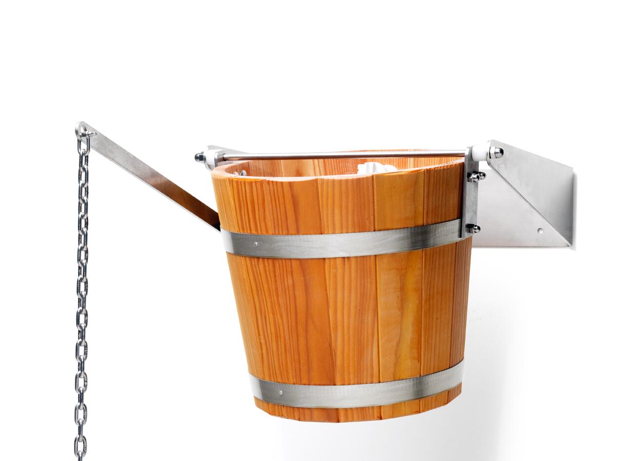 Sauna shower barrel